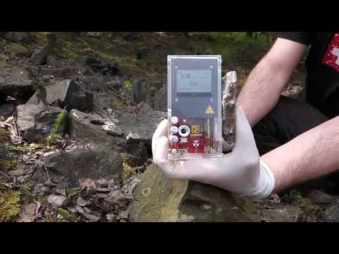 Uraninite hunting - finding Uranium ore at shaft 4