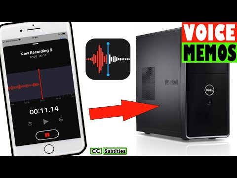 How to transfer Voice Memos from iPhone to Computer - iPhone Voice Memos to PC
