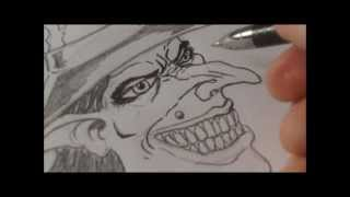 How To Draw Wicked Witch Face