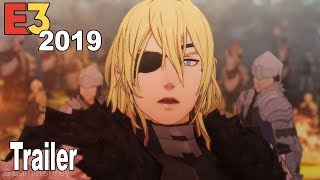 Fire Emblem Three Houses - E3 2019 Trailer  [HD 1080P]