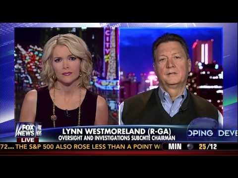Westmoreland Discusses HPSCI Benghazi Investigation on The Kelly File