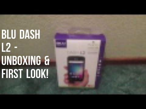 BLU Dash L2 - Unboxing & First Look!