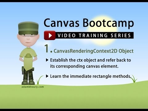 Canvas Bootcamp 1 - Rectangle Methods and the 2D Context Object