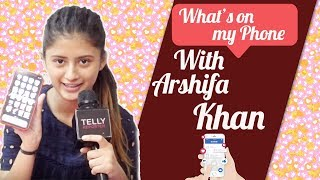 What's On My Phone With Arishfa Khan | Telly Reporter Exclusive