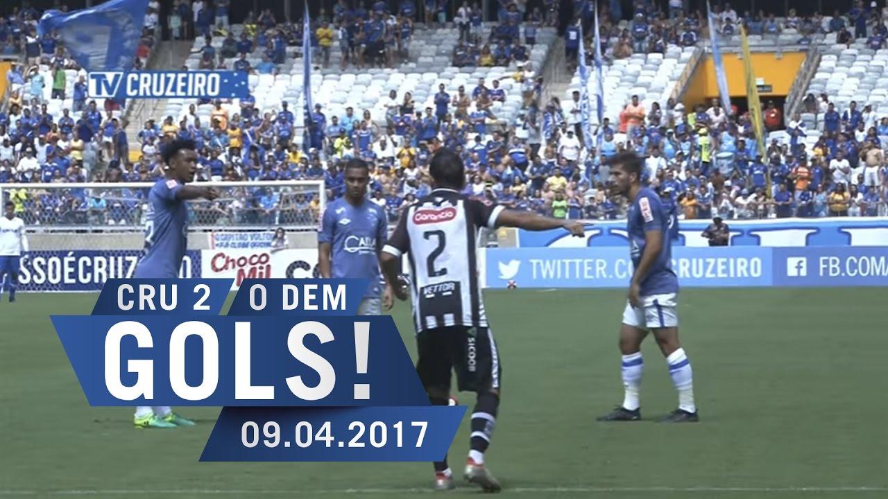 8a6e922f7a 09 04 2017 - Campeonato Mineiro - 11ª Rodada - Cruzeiro 2 x 0 Democrata-GV