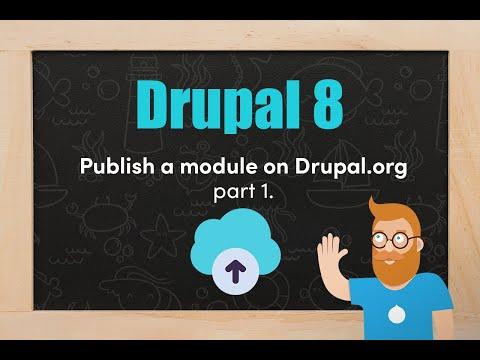 Publish A Module On Drupal.org - Part 1.