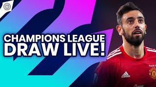 UEFA Champions League Draw Live | Stretford Paddock Reaction