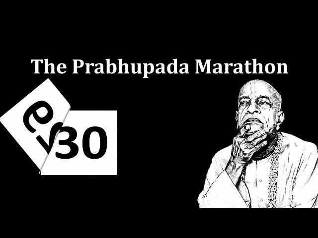 The Prabhupada Marathon  Hare Krishna