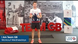 HIIT #1 workout with Leon Taylor | I Am Team GB