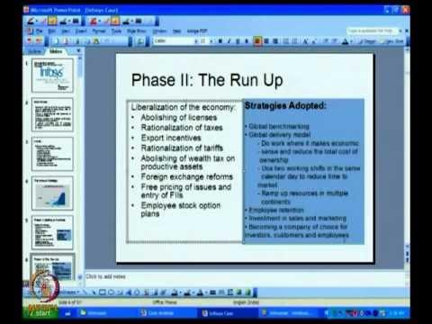 Mod-04 Lec-19 Case Analysis - 2 & SFAS Matrix