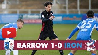 📺 Match action: Barrow 1-0 Iron