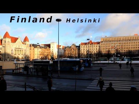 Finland - Helsinki : Railway Station, Kamppi, Hakaniemi, Kallio Church