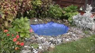 GARDEN DESIGN (45) Oczko wodne - poidełko dla jeży, ptaków i jaszczurek.
