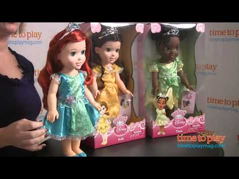 My First Disney Princess Toddler Dolls From Tollytots Youtube