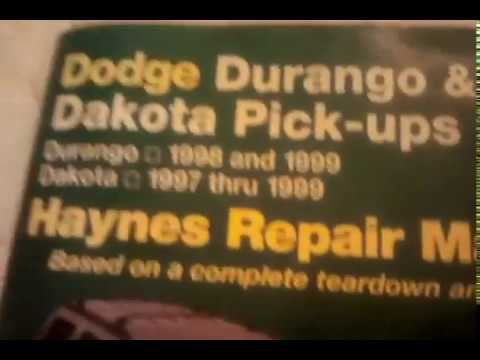 1998 dodge dakota transmission shifting problems