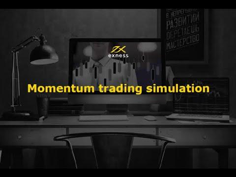 "Forex webinar on ""momentum trading simulation"""