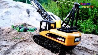23 Toy Hulk    Crane For Children   Excavator For children   Excavator For Kids   Music For Kids