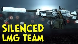 SILENCED LMG TEAM! - Battlefield 4
