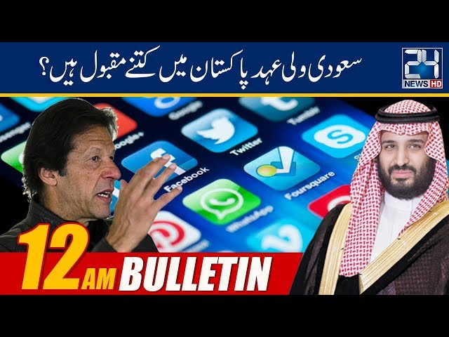 News Bulletin | 12:00am | 19 Feb 2019 | 24 News HD