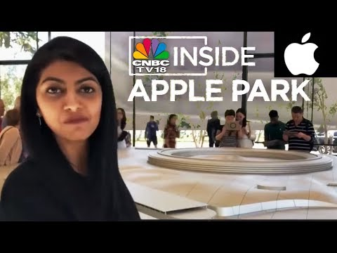 CNBC-TV18 Inside Apple Park