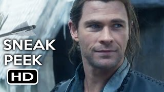 The Huntsman Winter's War Official Trailer Sneak Peek #1 (2016) Chris Hemsworth Fantasy Movie HD