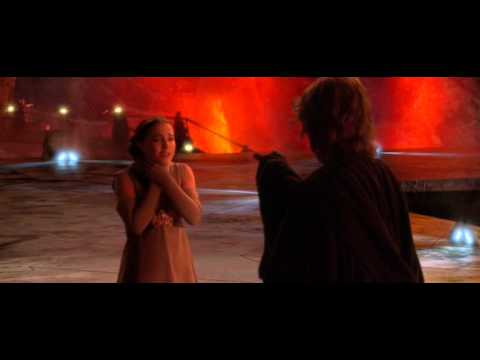 Star Wars Episode Iii Revenge Of The Sith You Turned Her Against Me Avi Youtube