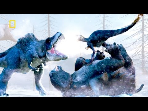 Dinosaurs Movie by NATIONAL GEOGRAPHIC - The Mass Migration of the Dinosaurs