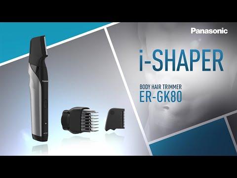 Innovative i-Shaped Body Hair Trimmer ER-GK80 [Panasonic]