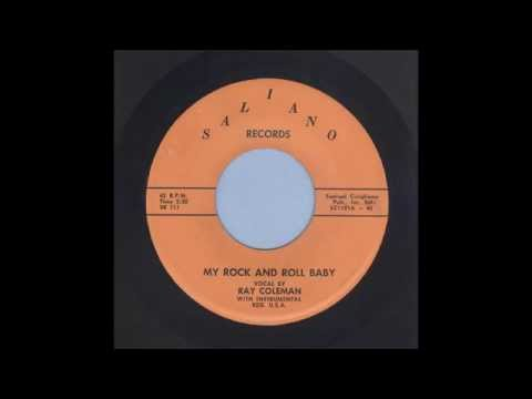 Ray Coleman - My Rock And Roll Baby - Rockabilly 45