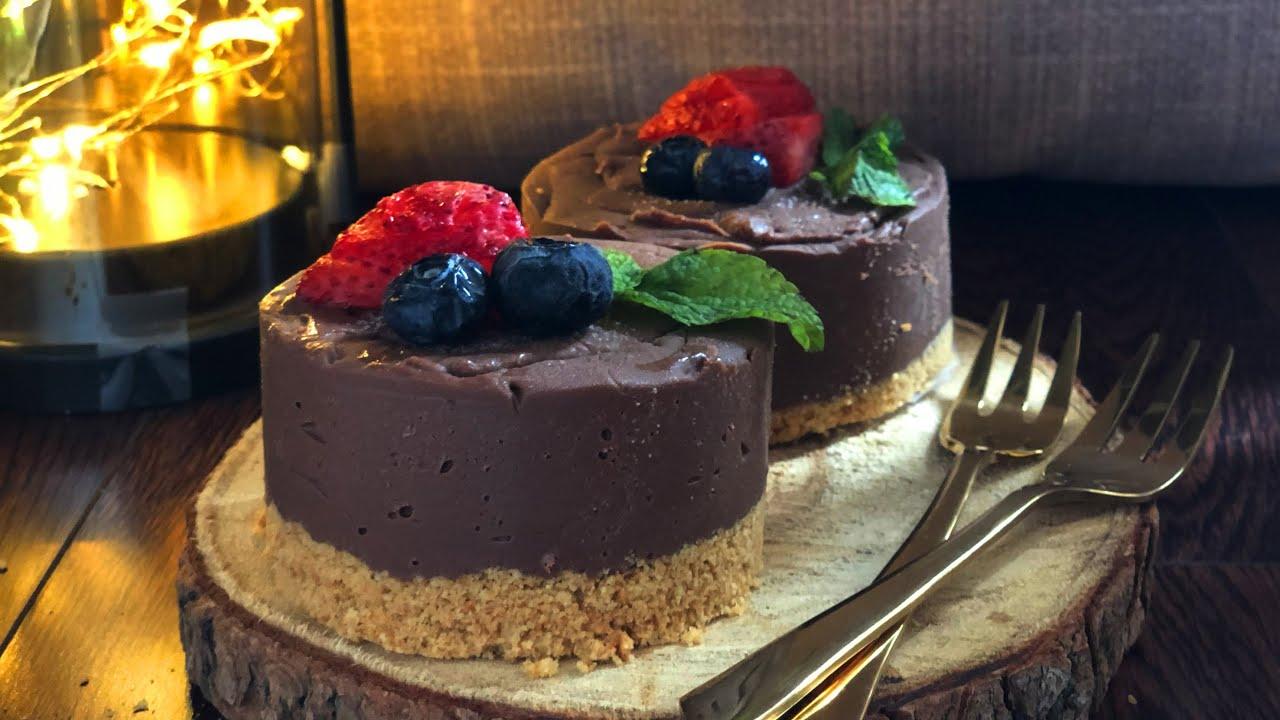 Eggless Chocolate Marquise