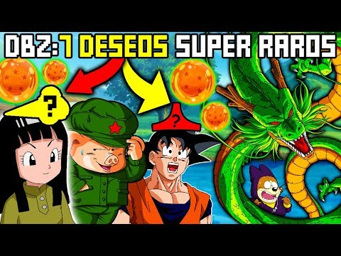 7 Deseos más Ridículos Pedidos a Shenlong de Dragon Ball Z (Top 7 Peores Deseos a Shenron)