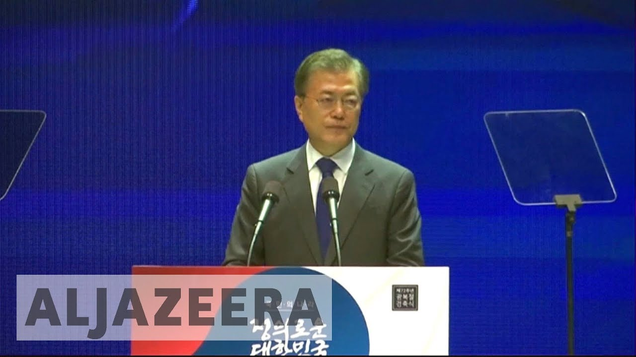 South Korea's president says no war with North without consent