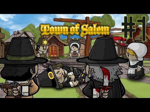 Town of Salem! w/ PokeaimMD, Akamaru, Blunder, Gator, Pony, steve & Subscribers!