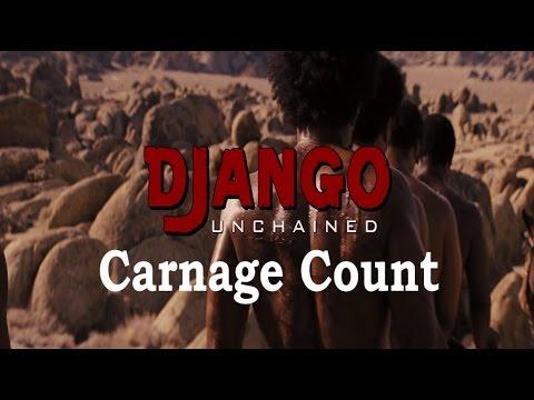 Django Unchained (2012) Carnage Count