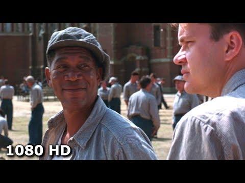 Энди знакомится в тюремном дворе с Эллисом | Побег из Шоушенка (1994)