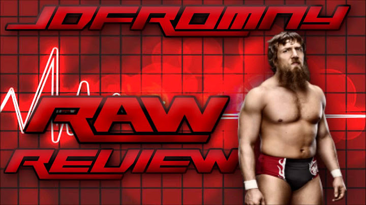 wwe raw review 31014  daniel bryan  occupy raw stops the show  triple h vs bryan official
