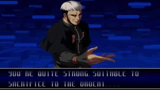 The King of Fighters 2002: Goenitz Playthrough (PS2)