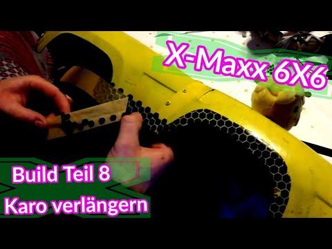X Maxx 6x6 Karosserie Verlangern Build Teil 8 Hd Deutsch
