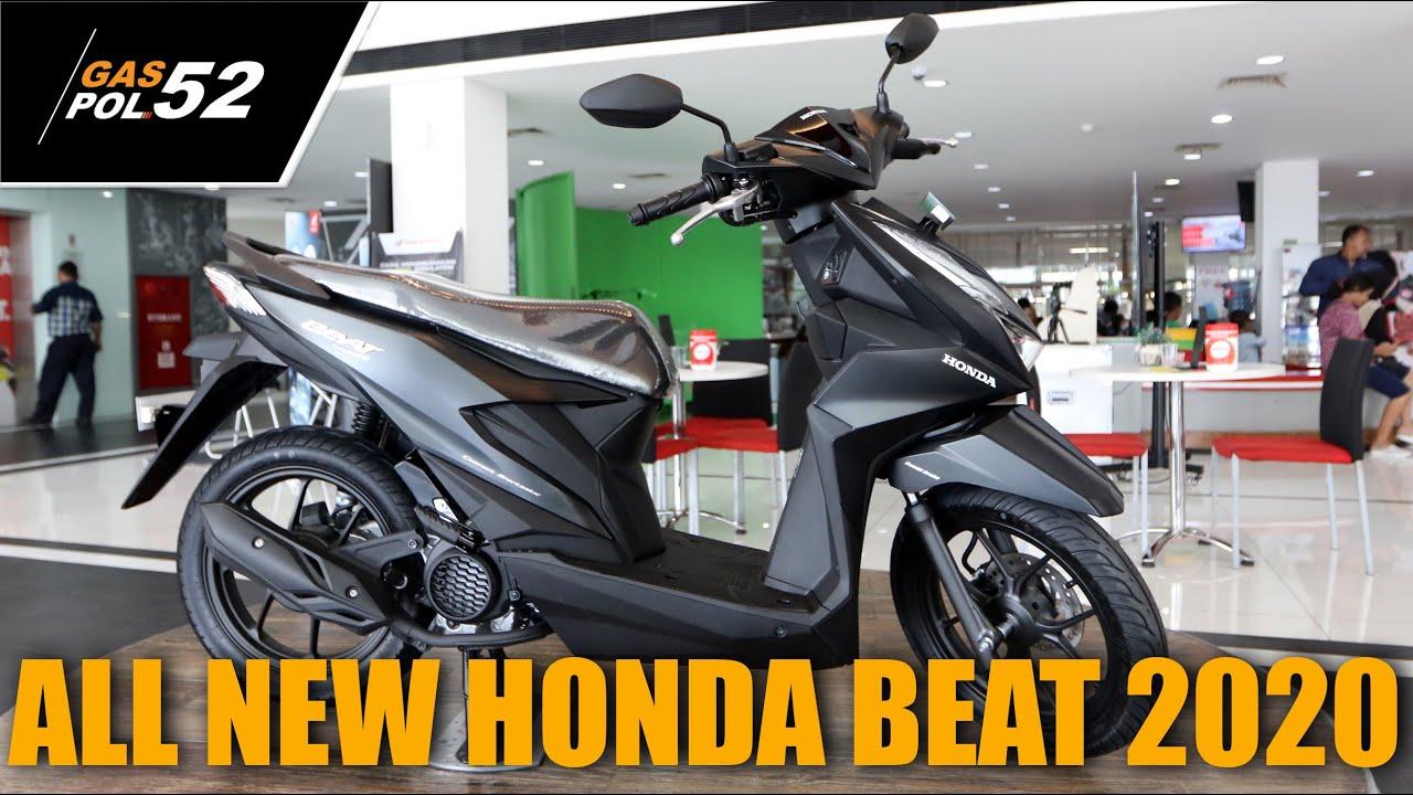All New Honda Beat 2020 Rangka Baru Mesin Baru Semakin Nyaman Youtube