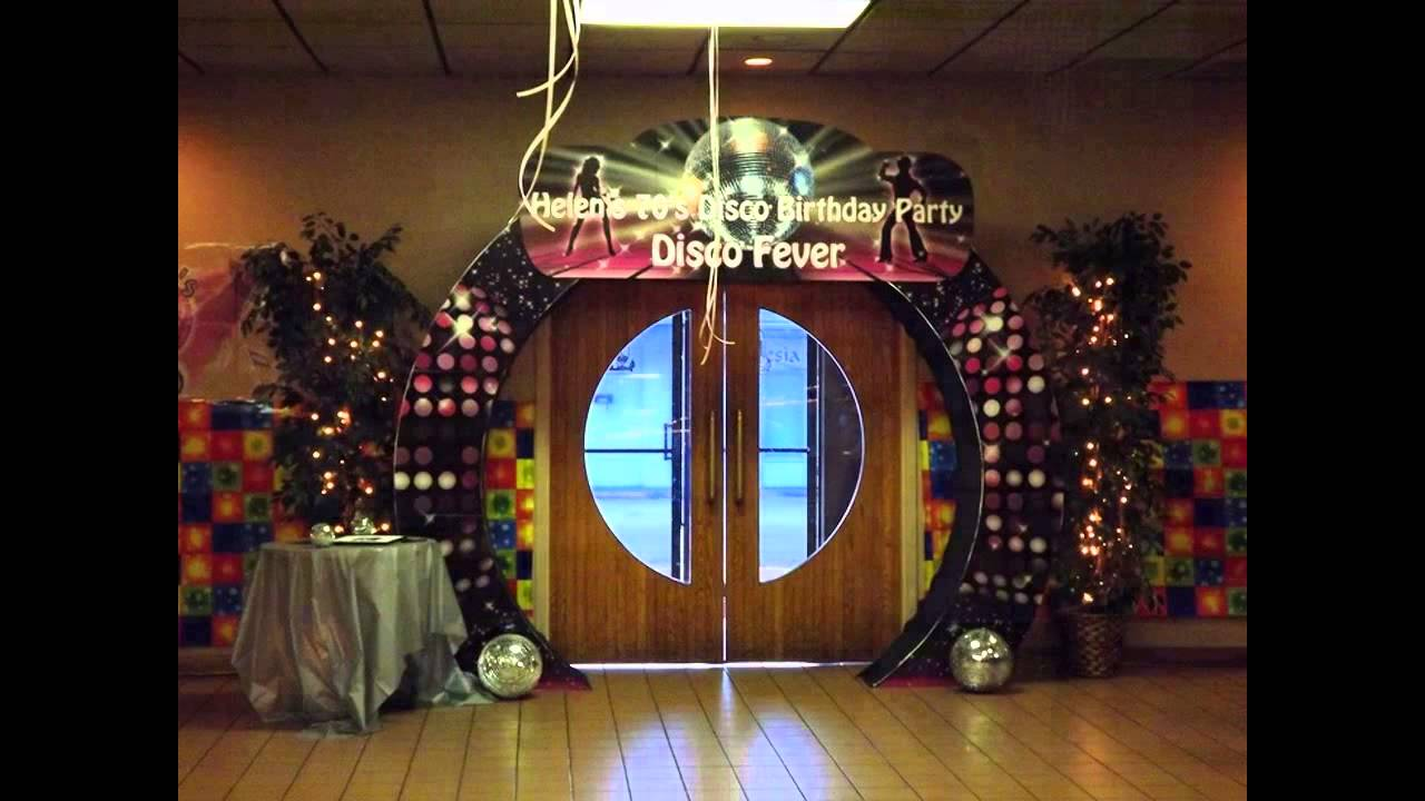 Fascinating Disco party decorating ideas - YouTube - photo#42