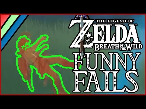 Death In The Wild | Zelda Breath of the Wild Funny Fails
