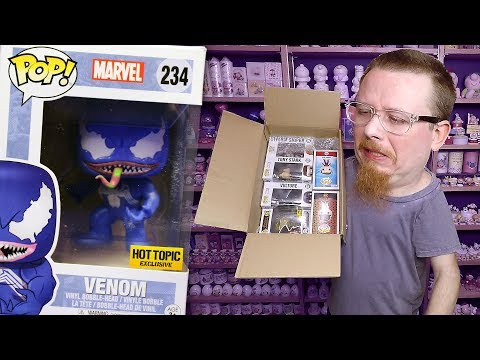 What is that Smell? $5 Funko Pop Vinyl Figures Ebay Collection Haul Video