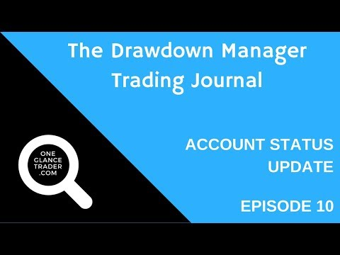 The Drawdown Manager Trading Journal e10 - Account Status Update