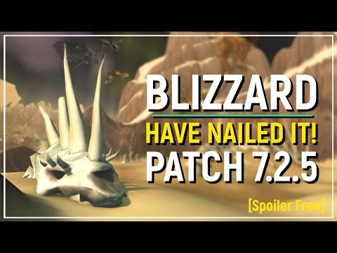 Blizzard Have Nailed It! Legion's Most Fun Gameplay Yet! - New 7.2.5 Feature