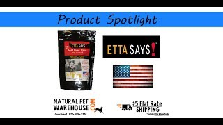 Etta Says Beef Liver Freeze Dried Dog Treats Made In Usa