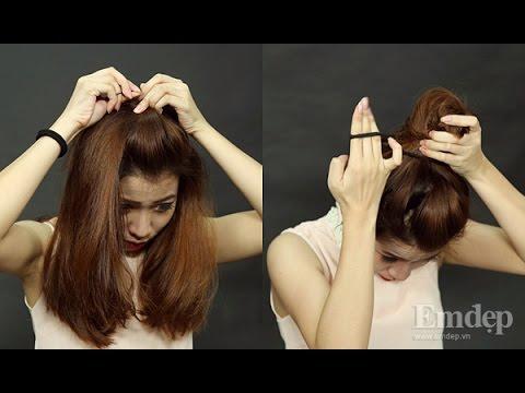 """5 kiểu tóc đẹp khi """"chưa kịp gội đầu"""""""