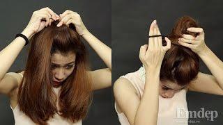 """Những kiểu tóc đẹp nhất thế giới - Kiểu tóc đẹp khi """"chưa kịp gội đầu"""""""