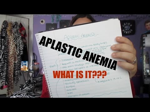 ALL ABOUT MY LIFE THREATENING DISEASE: APLASTIC ANEMIA