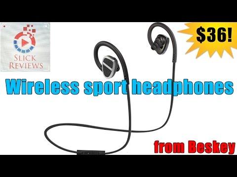 Wireless sport headphones from Beskey - Headphones Series Ep. 13