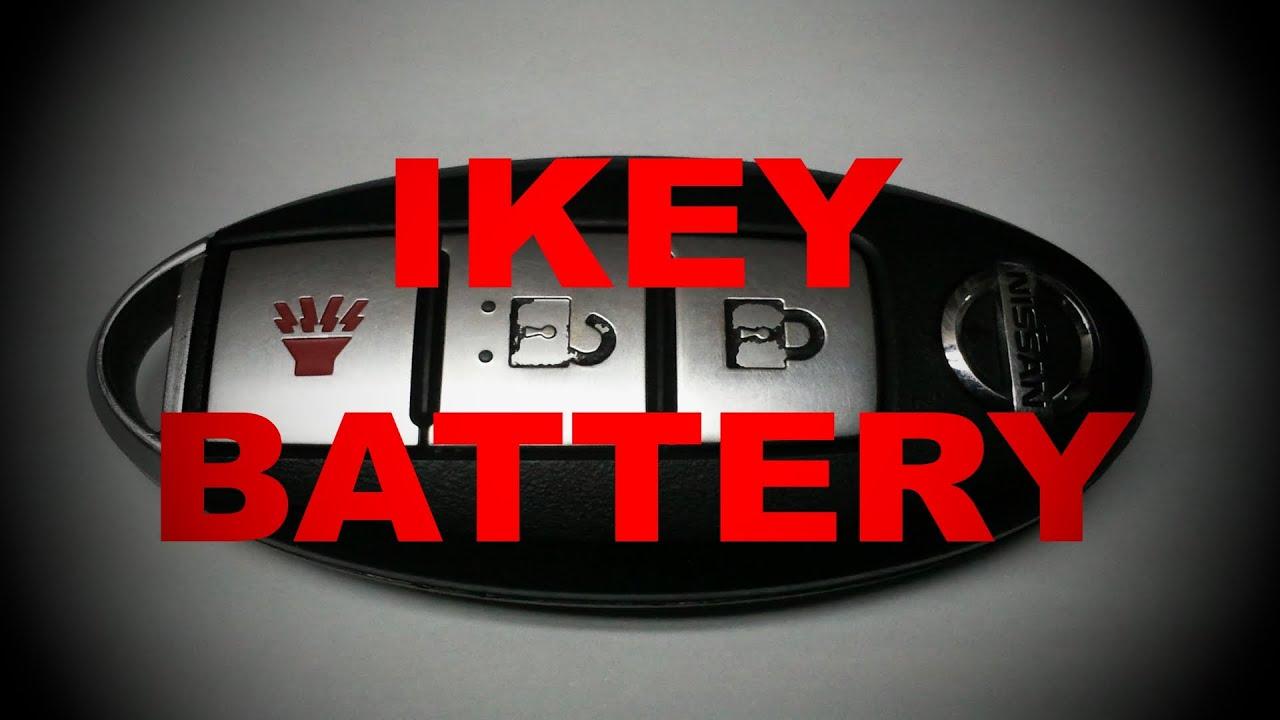 Teste e Substituição da bateria do Ikey NISSAN TIIDA ...